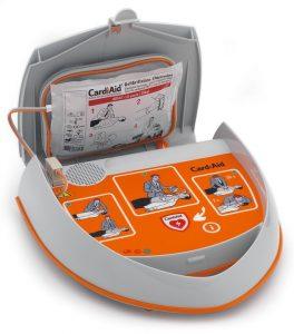 l'utilisation d'un défibrillateur